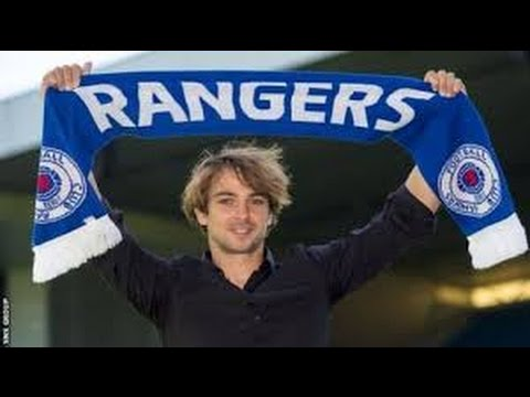 Niko Kranjcar amazing move vs Motherwell. F.C. Rangers.