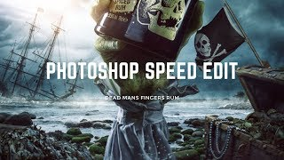 PHOTOSHOP speed edit - Dead Mans Fingers