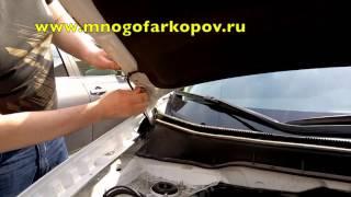 Амортизатор (упор) капота на Mitsubishi Asx KU-MI-AX00-00 (обзор,установка)