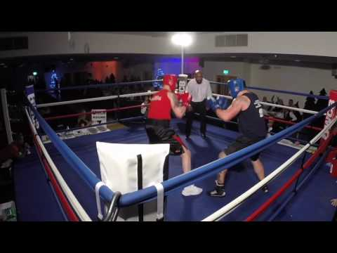 Ultra White Collar Boxing | Leicester Room 1 | Luke Darlington VS Joshua Richmond