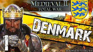 Stainless Steel [6.4] Medieval 2 Total War: Denmark Campaign #1 ~ Dragon Rising!