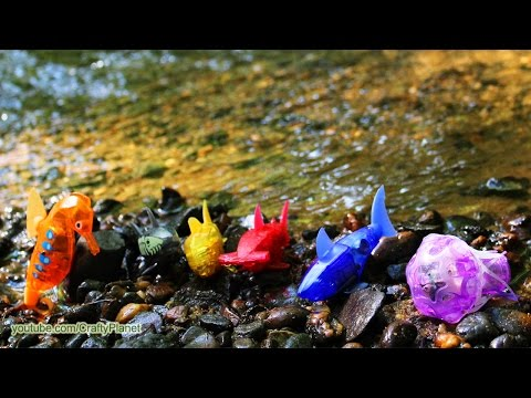 Can A Hex Bug Fish Swim In A Raging River?? Aquabot Swimming Test Review Micro Robotic Robot