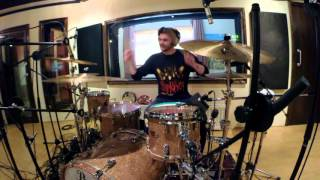 Phil Crean : Car Chase City - No Hard Feelings (Studio Drum Recording)