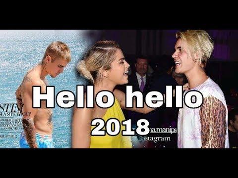 Justin bieber -hello hello new english song 2018/ft.Justin bieber,selena gomez