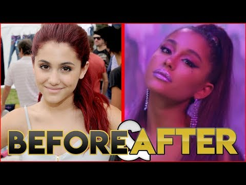 Ariana Grande  Before & After  Transformation  Hair Plastic Surgery Make Up & More