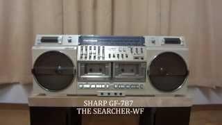矢野顕子 ブルー 1980年頃のラジカセ音比べ SHARP GF-787