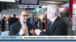 Interview with Newtec's Semir Hassanaly talks 5G at MWC Congress in Barcelona