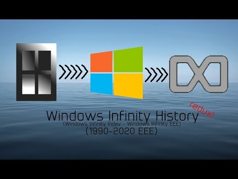 Windows Infinity History redux! (1990-2020 EEE)