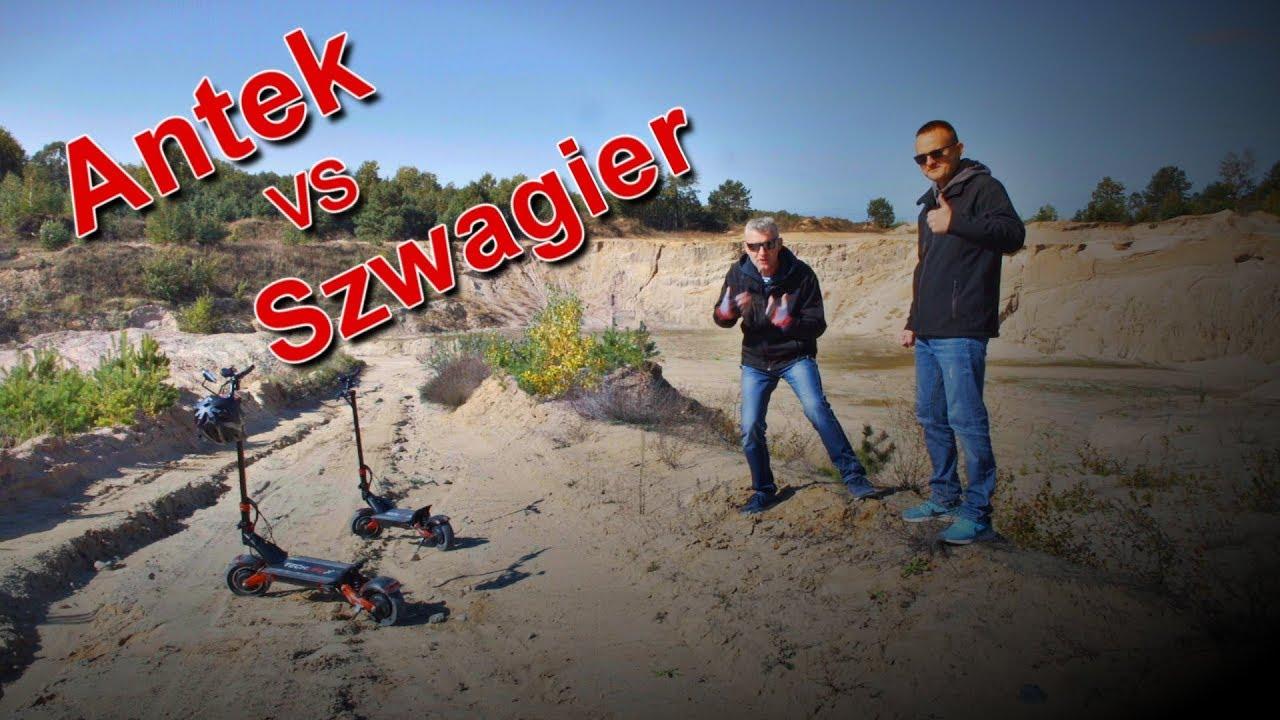 Antek vs. Szwagier - Hulajnoga Techlife x7