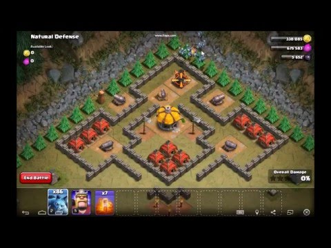 Clash of Clans: Natural Defense