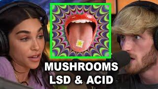 LOGAN & CHANTEL REVEAL THOUGHTS ON MUSHROOMS, LSD & ACID