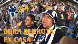 Rayados vs Chivas | Derrota en casa | El TioRayado