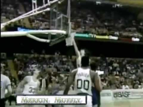 Kevin McHale scores 56 on the Pistons 1985