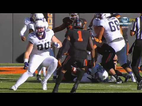 TCU at Oklahoma State football 2015 - No Huddle