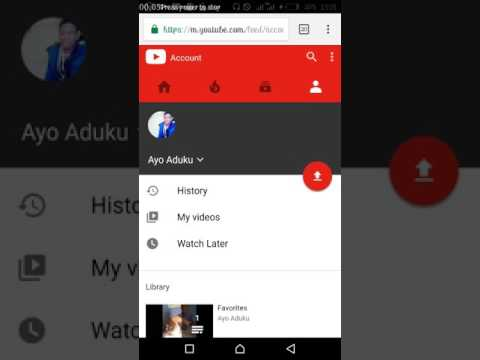How to get your YouTube channel link using Mobile phone Google chrome browser