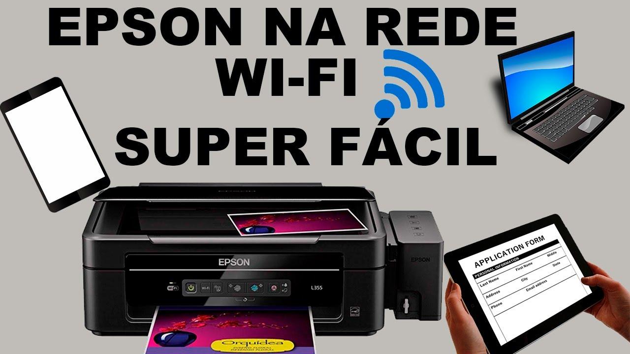 Como Colocar Impressoras Epson No WiFi