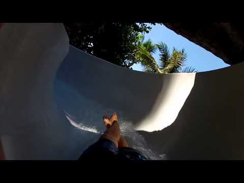 Grand Wailea - Lava Slide  - GoPro Hero HD - Wailea, Maui, Hawaii