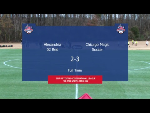 2017 National League - 16U Boys - Field 4 - 10am - Alexandria 02 vs. Chicago Magic