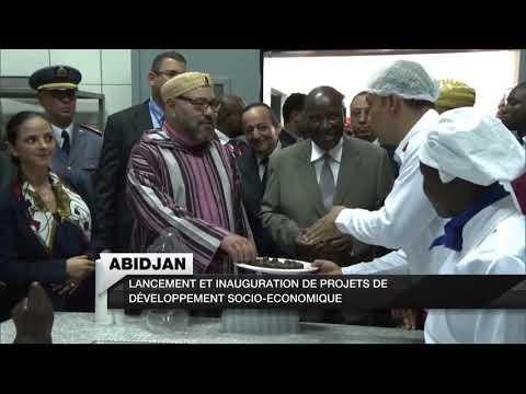 [OFPPT] - Inauguration du Centre multisectoriel de formation professionnelle «Mohammed VI» à Abidjan