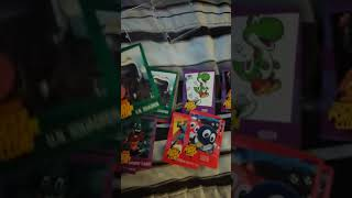 Nintendo Power Super Power Club cards.