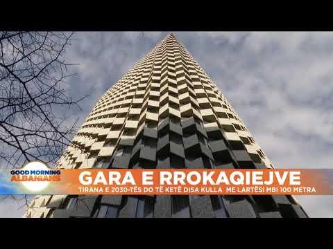 Gara e rrokaqiejve, Tirana e 2030-ës do të ketë disa kulla me lartësi mbi 100 metra