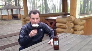 Дегустация домашнего пива  PA с выдержкой один год и четыре месяца