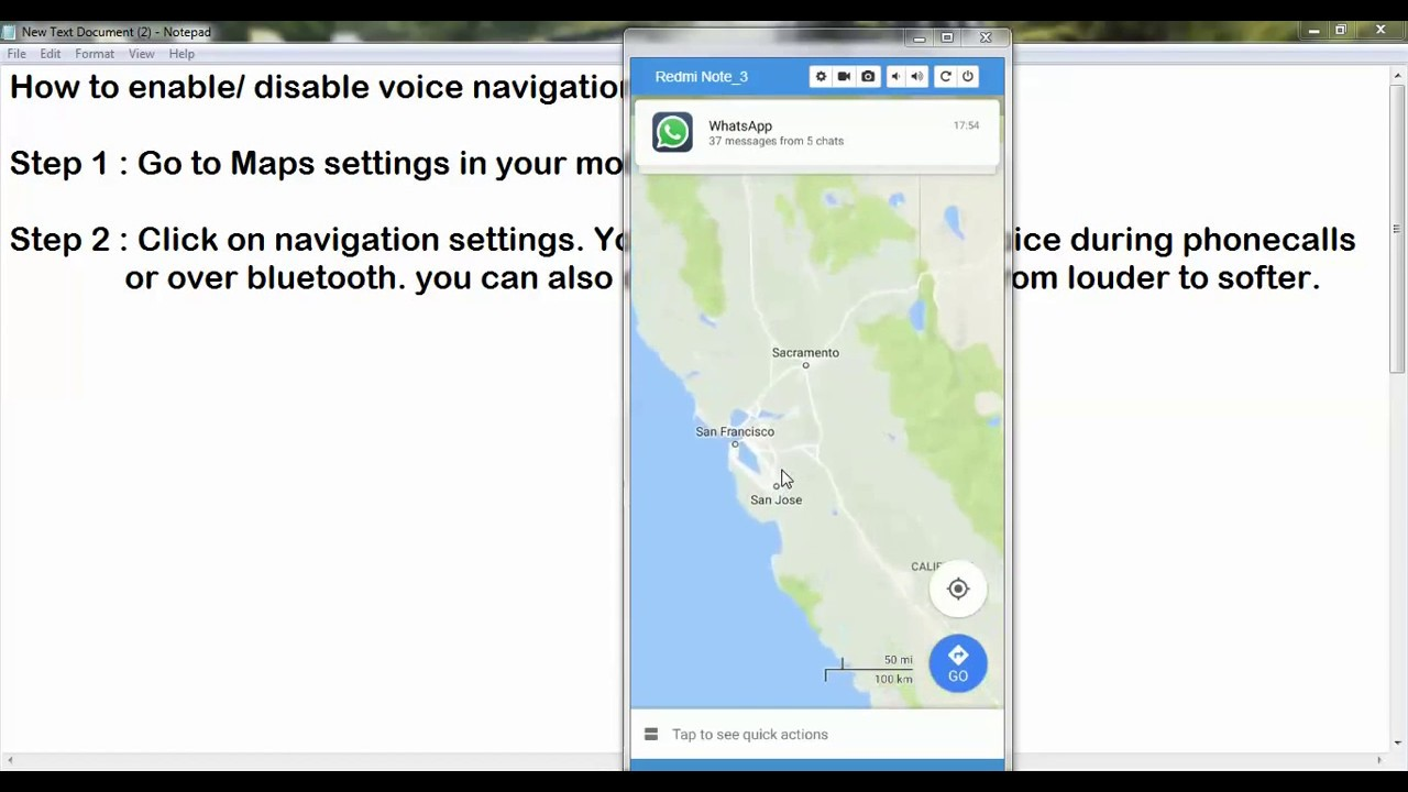 How to enable or disable voice navigation in google maps How To Get Voice Navigation On Google Maps on