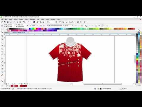 Criação de Arte para sublimação em camiseta. - YouTube ffba8544a7388