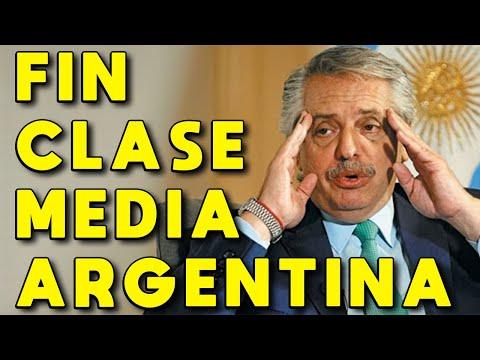 FIN CLASE MEDIA ARGENTINA: SUPERADA POR CLASE BAJA Y POBRES | DESTRUCCIÓN ECONÓMICA Y CRISIS