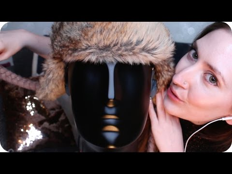 ASMR Cosy Fabric Scratching, Tingly Head Tapping, Sponges & Super Up Close Ear to Ear Whispers