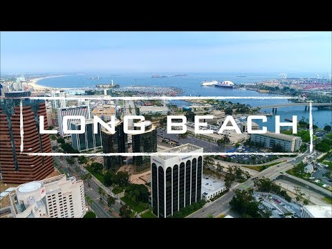 Long Beach California | 4K Drone Footage