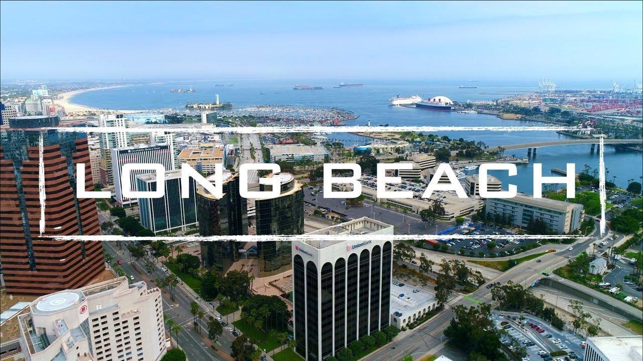 Long Beach California | 4K Drone Footage