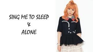 Alan Walker - Sing Me To Sleep & Alone (MASHUP!) | J. Fla Cover [ LYRICS ]
