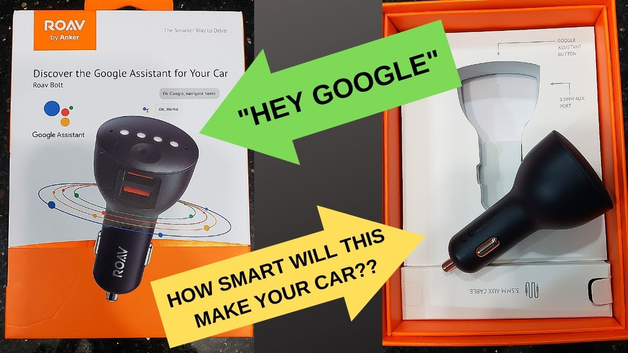 ANKER ROAV BOLT GOOGLE ASSISTANT REVIEW  HOW SMART WILL IT MAKE YOUR CAR?