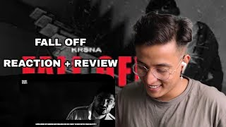 KR$NA FALL OFF REACTION | KRSNA FALL OFF REACTION | T.7 LIFESTYLE