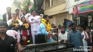 Charminar Congress Party Candidate Mohd Ghouse Starting Rally SudhaTalkies To Khilwat End