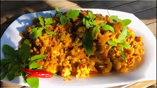 Yummy special fried frogs mix with lemon grass recipe-TinTin Lifestyle