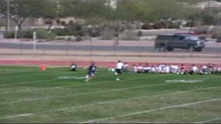 Freshman RB MVP Kevin Walters Jr.  2010 National Underclassmen Combine, Phoenix, AZ.