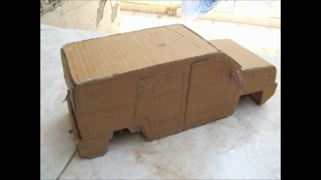 Cardboard Cars (Part 1) - YouTube