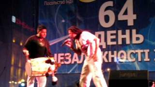 Apache Indian Performance at Indian I-Day Celebration in Kiev 2010