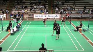 2011 Brazil Open (IC) - XD SF - Ho/Lee [USA] vs Ng/Gao [CAN] - G3