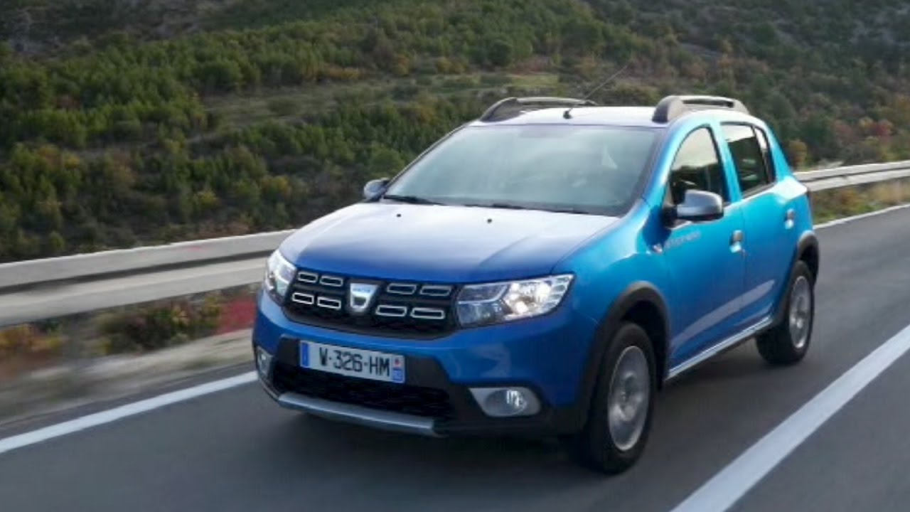 2017 dacia sandero stepway youtube. Black Bedroom Furniture Sets. Home Design Ideas