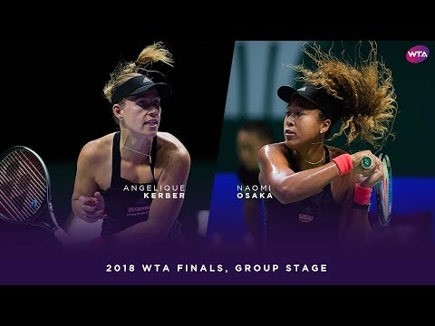 Angelique Kerber vs. Naomi Osaka | 2018 WTA Finals Singapore
