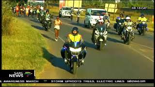 Bongmusa Mthembu won 3rd Comrades Marathon title
