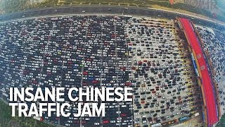 Insane Chinese traffic jam thumbnail