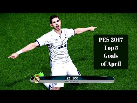 """PES 2017 Top 5 Goals Of The Month """"2"""""""