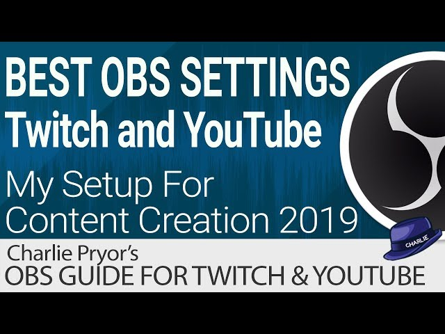 best settings for obs