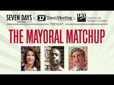 Burlington Mayoral Forum (Mayoral Matchup) Forum 2/5/2018 (full audio)