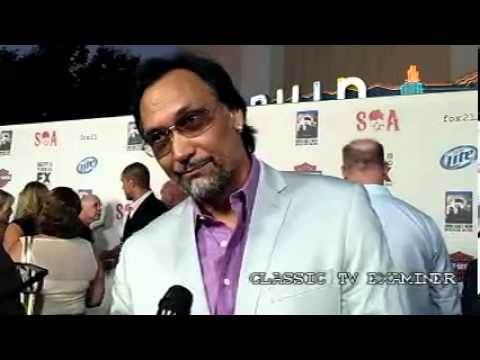 Jimmy Smits -- Sons of Anarchy Premiere
