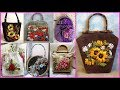 ribbon work embroidery design=embroidered purses and handbags=silk ribbon embroidery